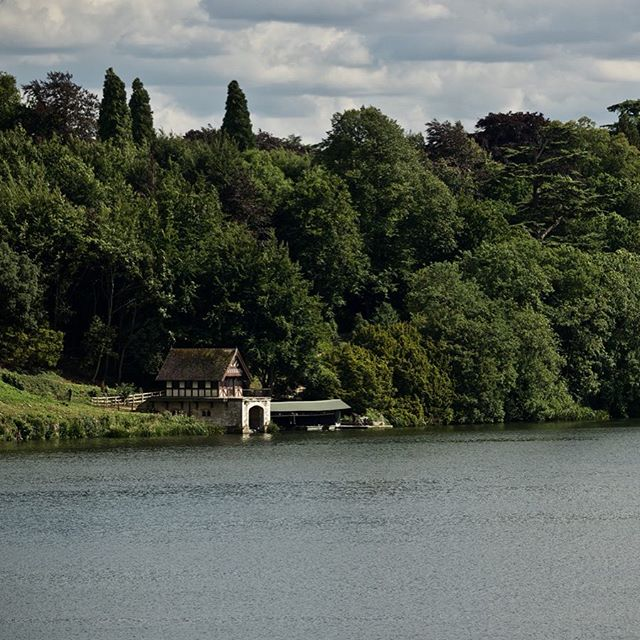 Boathouse at Blenheim palace